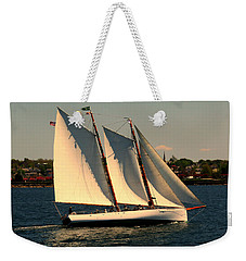Weekender Tote Bag featuring the photograph The Adrondack Newport by Tom Prendergast