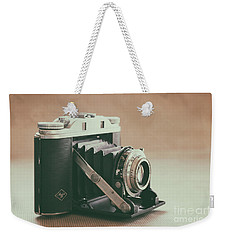Weekender Tote Bag featuring the photograph The Agfa by Ana V Ramirez