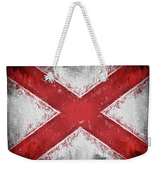 The Alabama Flag Weekender Tote Bag by JC Findley