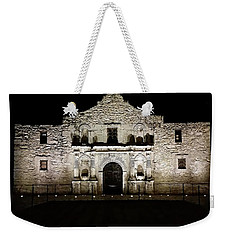 The Alamo On Halloween Weekender Tote Bag by Joseph Hendrix