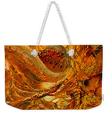Weekender Tote Bag featuring the painting The Alchemist by Henryk Gorecki