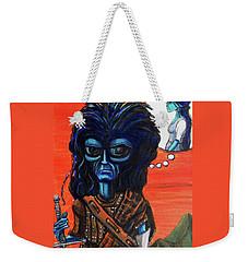 The Alien Braveheart Weekender Tote Bag