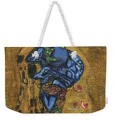 The Alien Kiss By Blastoff Klimt Weekender Tote Bag by Similar Alien
