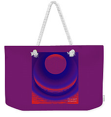 The Alignment Sequence Weekender Tote Bag