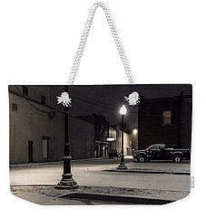 Weekender Tote Bag featuring the photograph The Alley by Kendall McKernon