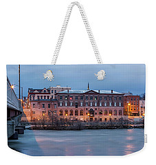 Weekender Tote Bag featuring the photograph The Allure Of Old by Everet Regal