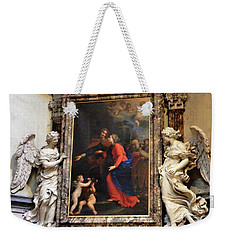 The Altar Of The Visitation Weekender Tote Bag