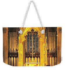 Weekender Tote Bag featuring the photograph The Alter by Diana Angstadt