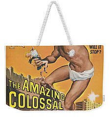 The Amazing Colossal Man Movie Poster Weekender Tote Bag