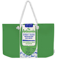 The Ambassador Weekender Tote Bag