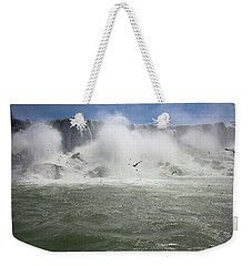 The American Falls Of Niagara Weekender Tote Bag