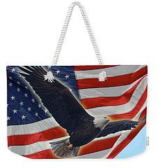 The American Weekender Tote Bag