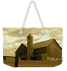 The Amish Silo Barn Weekender Tote Bag