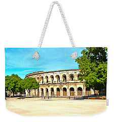 The Amphitheatre Nimes Weekender Tote Bag