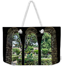 The Ancient Cloister Weekender Tote Bag