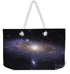 The Andromeda Galaxy Weekender Tote Bag by Robert Gendler