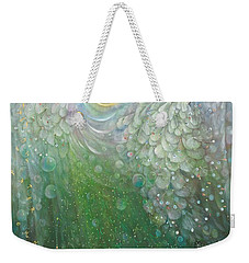 The Angel Of Growth Weekender Tote Bag by Annael Anelia Pavlova
