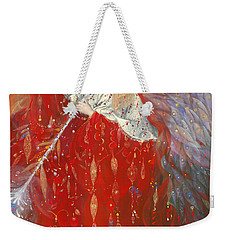 The Angel Of Life Weekender Tote Bag by Annael Anelia Pavlova