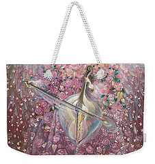 The Angel Of Love Weekender Tote Bag by Annael Anelia Pavlova