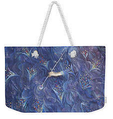 The Angel Of Power Weekender Tote Bag by Annael Anelia Pavlova