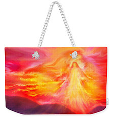 The Angel Of Protection Weekender Tote Bag