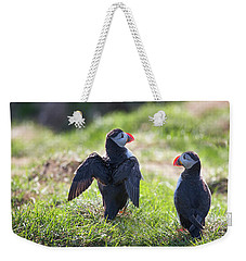 The Angel Puffin Weekender Tote Bag