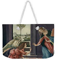 The Annunciation After Botticelli Weekender Tote Bag