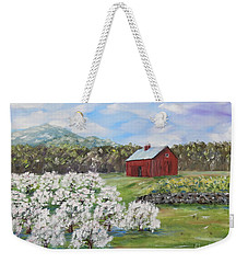 The Apple Farm Weekender Tote Bag by Stanton Allaben