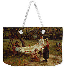 The Apple Gatherers Weekender Tote Bag