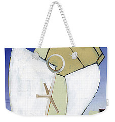 Weekender Tote Bag featuring the painting The Arc by Michal Mitak Mahgerefteh