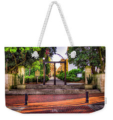 The Arch 4 University Of Georgia Arch Art Weekender Tote Bag