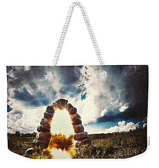 The Arch On The Edge Of Forever Weekender Tote Bag