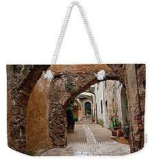 The Archways Of Villecroz Weekender Tote Bag