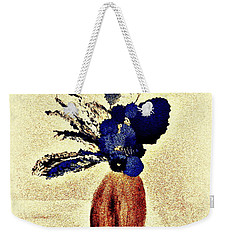 Weekender Tote Bag featuring the painting The Arrangement by Bill OConnor