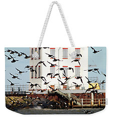 The Arrival Weekender Tote Bag