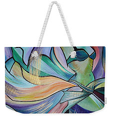 The Art Of Belly Dance Weekender Tote Bag by Tracey Harrington-Simpson