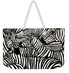 The Art Of Concealment Weekender Tote Bag by Lisa Aerts