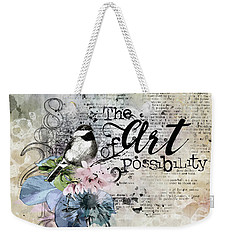 The Art Of Possibility Weekender Tote Bag