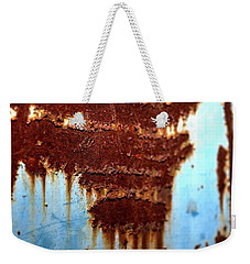 The Art Of Rust Weekender Tote Bag by Jerry Sodorff