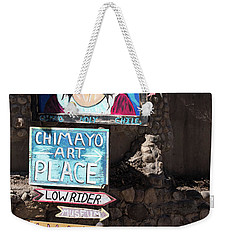 The Art Place In Chimayo Weekender Tote Bag