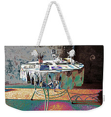 The Artists Table Weekender Tote Bag by Don Pedro De Gracia