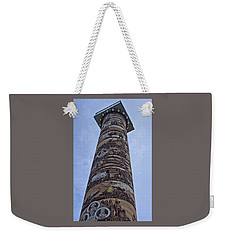 Weekender Tote Bag featuring the photograph The Astoria Column by Thom Zehrfeld