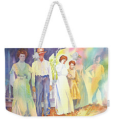 The Aunts Come Calling Weekender Tote Bag by Tara Moorman