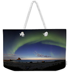 The Aurora Bow Weekender Tote Bag
