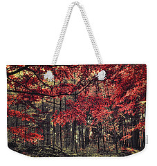 The Autumn Colors Weekender Tote Bag