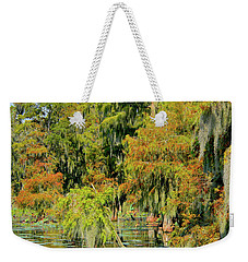 The Autumn Cometh Weekender Tote Bag