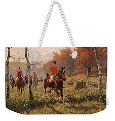 The Autumn Hunt Weekender Tote Bag