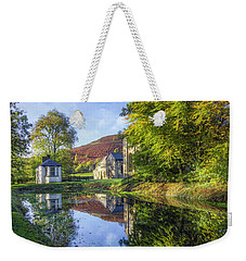 The Autumn Pond Weekender Tote Bag