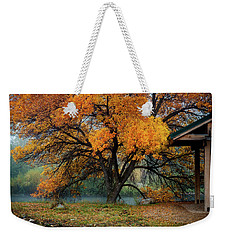 The Autumn Tree Weekender Tote Bag