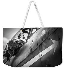 The Aviator - Bw Series Weekender Tote Bag